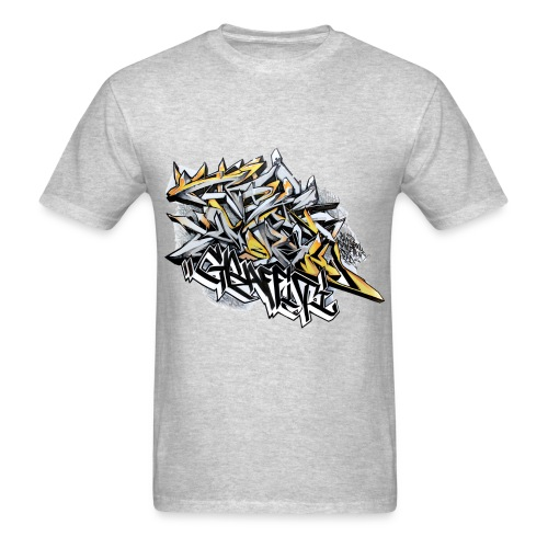 Q2 - Design for New York Graffiti Color Logo - Men's T-Shirt
