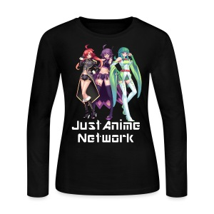 JustAnime Long Sleeved Shirt (Womens) - Women's Long Sleeve Jersey T-Shirt