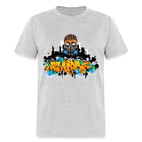 2.ezy - Design for New York Graffiti Color Logo - Men's T-Shirt