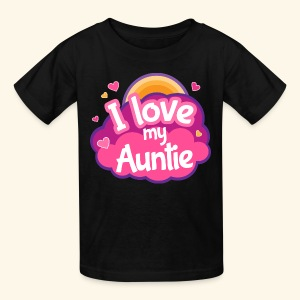 I Love My Auntie Kids T-shirt - Kids' T-Shirt