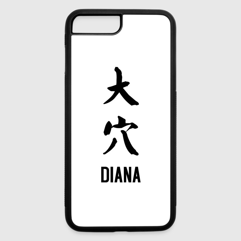 Diana by joke kanji Phone & Tablet Cases - iPhone 7 Plus Rubber Case