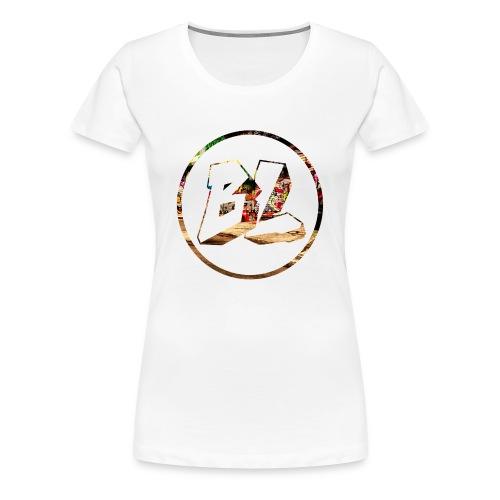 Female Badladz logo, large - Women's Premium T-Shirt