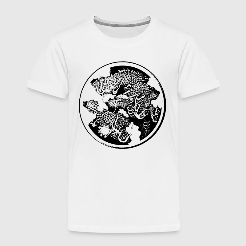 Japanese traditional dragon - Toddler Premium T-Shirt