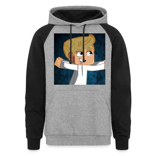 awesome hoodie (men) - Colorblock Hoodie