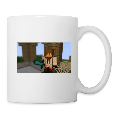 Mug Sword Holding : white - Coffee/Tea Mug