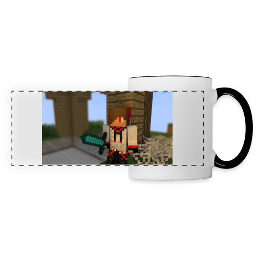 1052 : white/black - Panoramic Mug