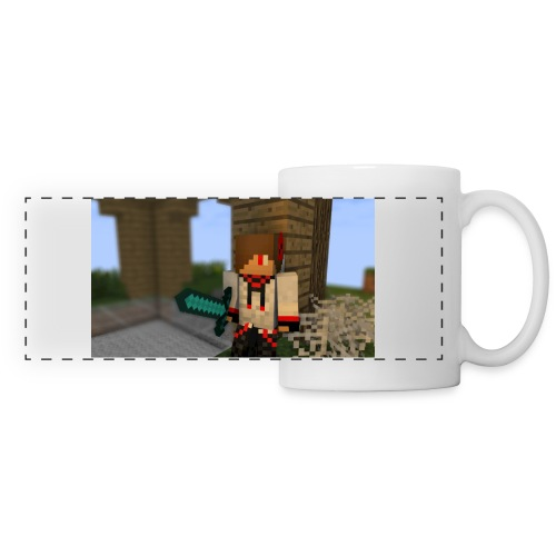 1052 : white - Panoramic Mug