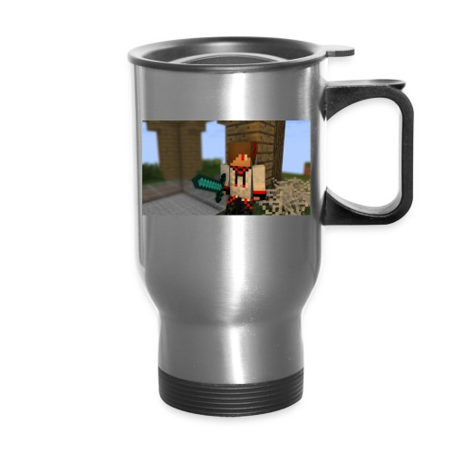Travel Mug Sword Holding : silver - Travel Mug