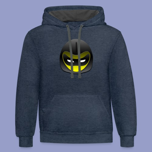 Stealth Mode - Contrast Hoodie