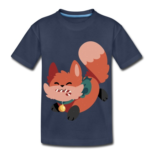Merry Foxmas Kid's T-Shirt - Kids' Premium T-Shirt