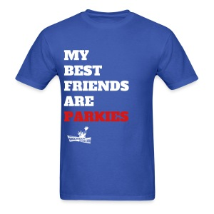 Best Friends Are Parkies  - Men's T-Shirt