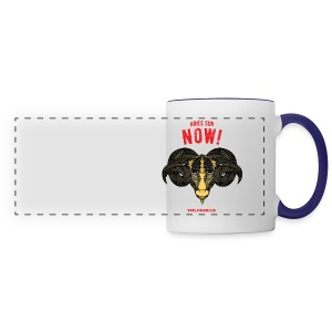 Aries Sun Panoramic Mug - Panoramic Mug