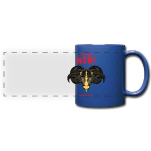 Aries Sun Full Color Panoramic Mug - Full Color Panoramic Mug