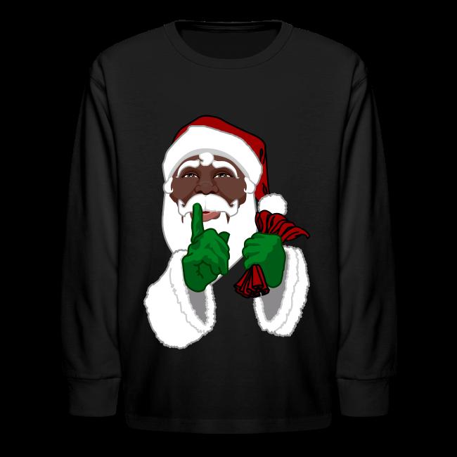 Kids African Santa Shirt Festive Kid's Christmas Shirts