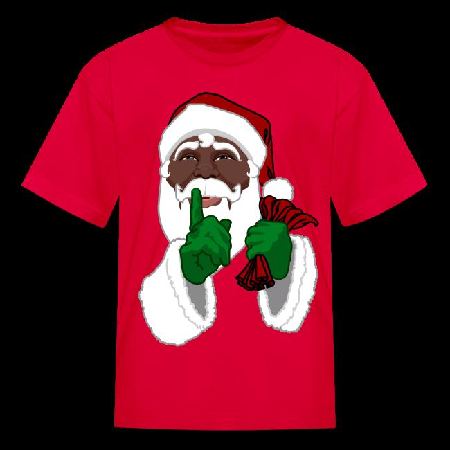 Kid's African Santa Shirt Festive Kid's Christmas Shirts