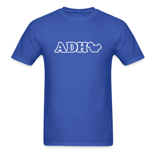 ADHD Squirrel Joke Men's - Men's T-Shirt