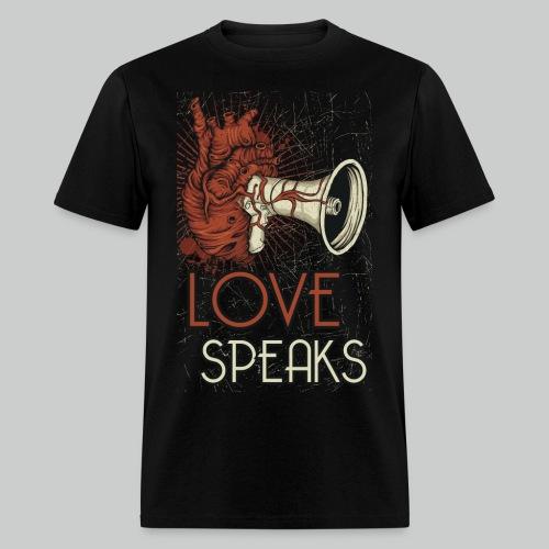 Love Speaks - Men's Tee - Men's T-Shirt