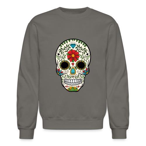 Sugar Skull - Day of the Dead #8 - Crewneck Sweatshirt