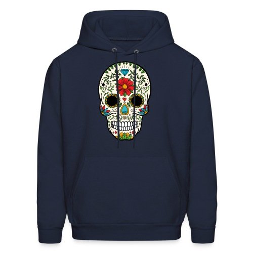 Sugar Skull - Day of the Dead #8 - Men's Hoodie