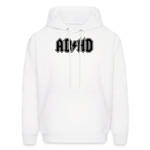 ADHD ACDC Logo Men's - Men's Hoodie
