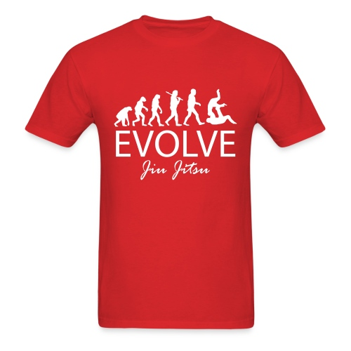 Evolve Jiu Jitsu Shirt (W) - Men's T-Shirt