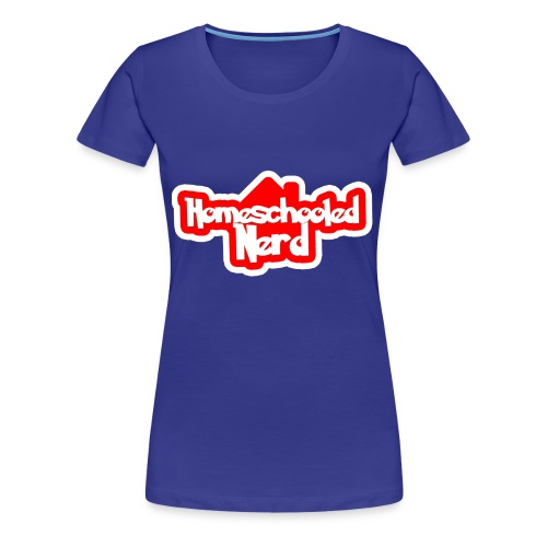 Homeschooled Nerd Logo (Women's) - Women's Premium T-Shirt