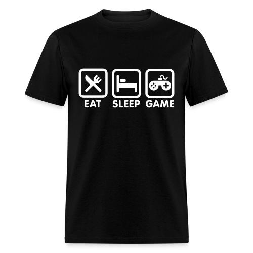 EAT SLEEP GAME TSHIRT - Men's T-Shirt