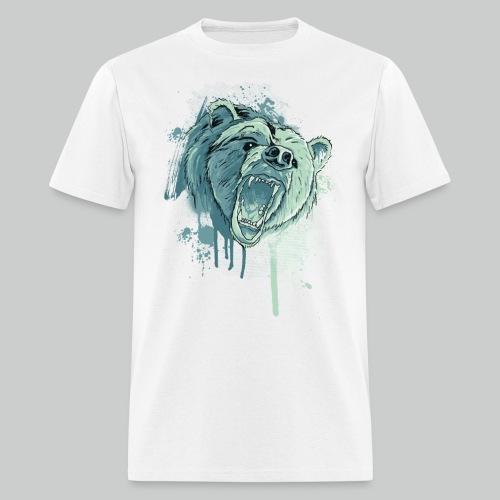 Bear - Men's White Tee - Men's T-Shirt