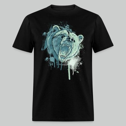 Bear - Men's Black Tee - Men's T-Shirt