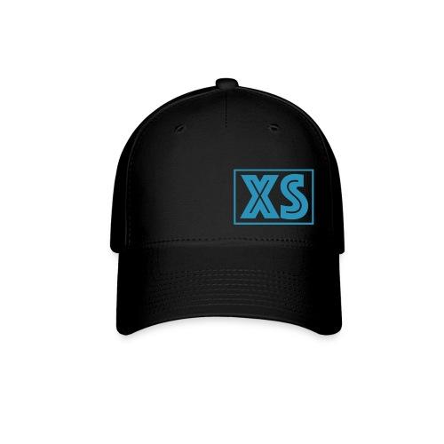 Xandersmurph Hat - Black w Blue Logo - Baseball Cap