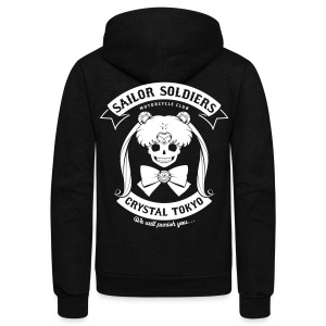 Moon's Angels - Unisex Fleece Zip Hoodie by American Apparel