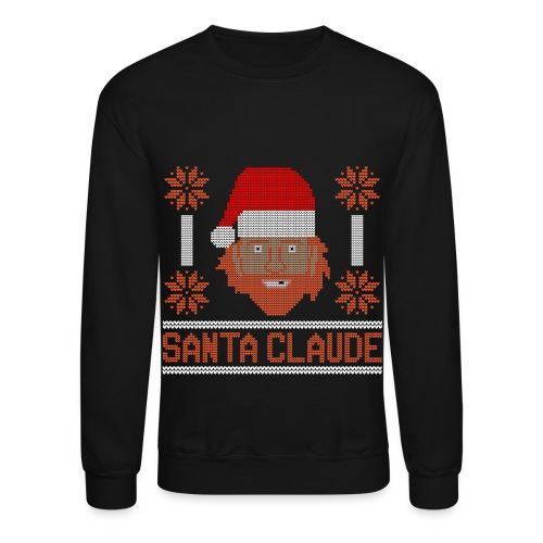 Santa Claude Sweater - Crewneck Sweatshirt