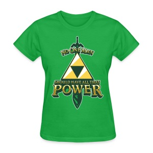 Triforce Power - Women's T-Shirt