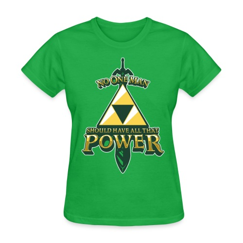 Triforce Power - Women's T-Shirt