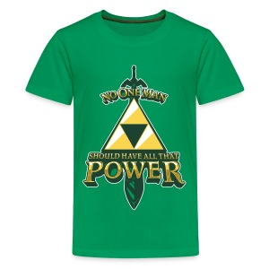 Triforce Power - Kids' Premium T-Shirt