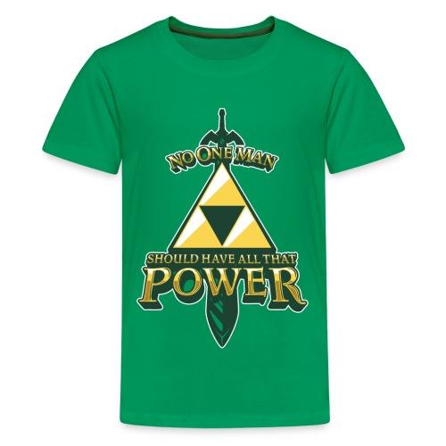 Triforce Power - Kids' Premium T-Shirt