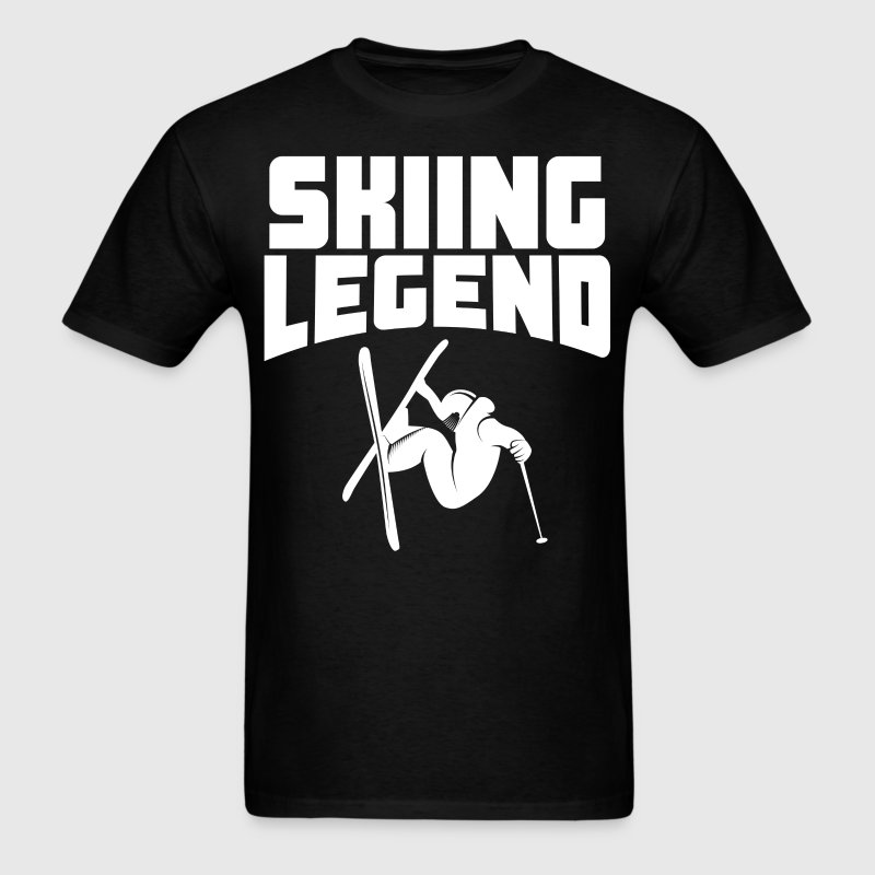 Skiing Legend Extreme Skier - Men's T-Shirt