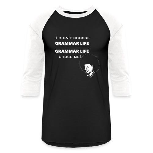 Gangsta Life Afrolicious - Baseball T-Shirt