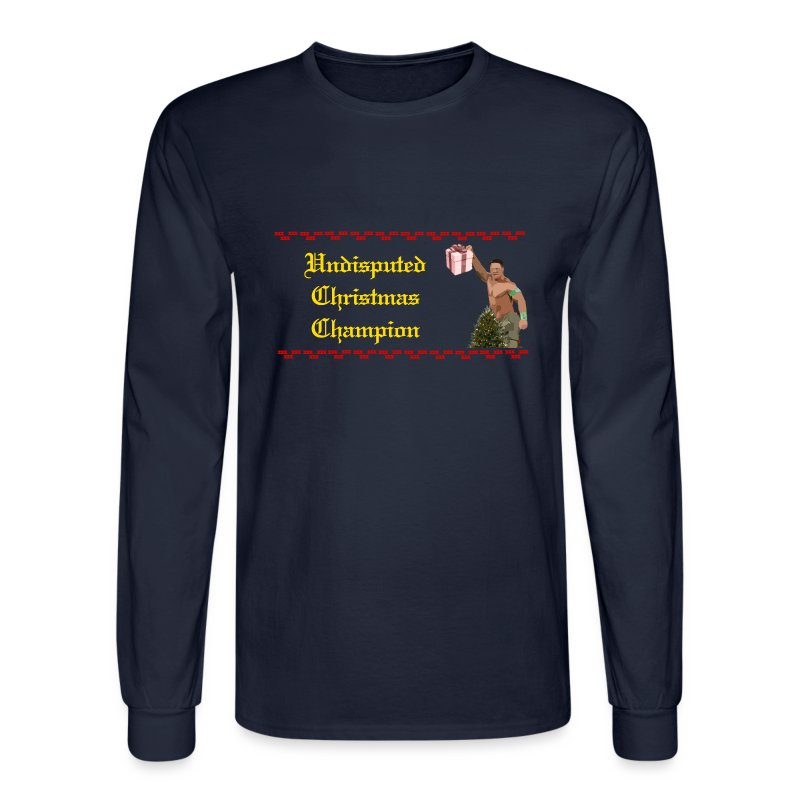 Undisputed Christmas Champion - Men's Long Sleeve T-Shirt