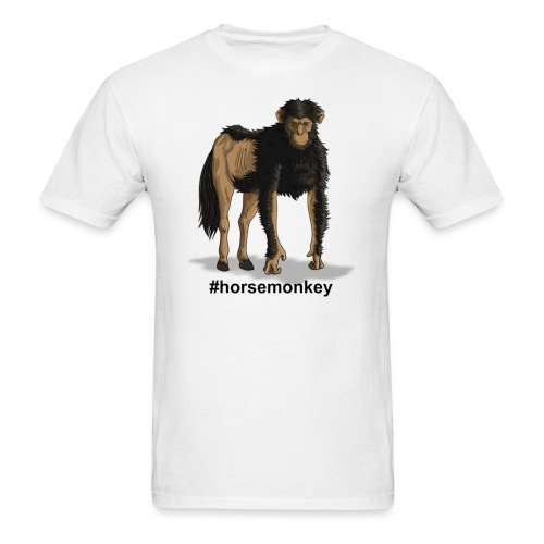 Horse Monkey - Men's T-Shirt