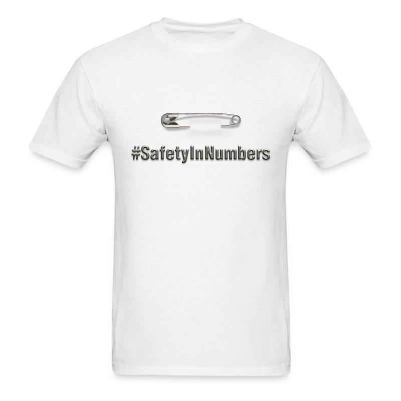Safety in Numbers Men's t-shirt - Men's T-Shirt