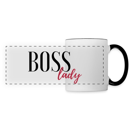 boss lady mug - Panoramic Mug