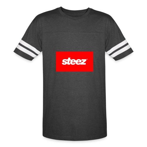 Striped Sleeve STEEZE t shirt - Vintage Sport T-Shirt