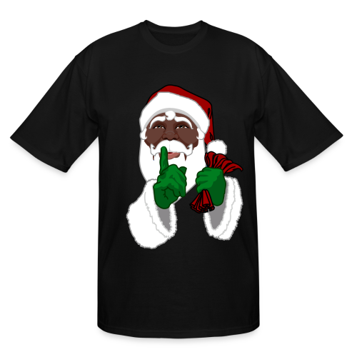 Christmas Gifts For Men South Africa: Men's African Santa Shirts Plus Size Christmas T-shirts T