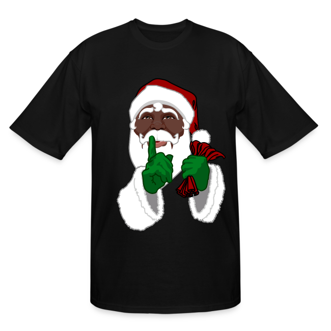 mens african santa shirts plus size christmas t shirts