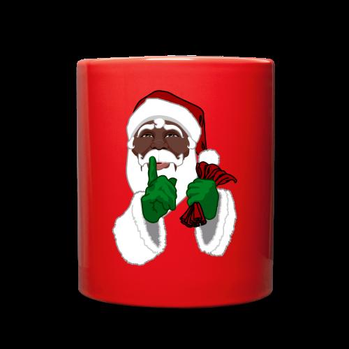African Santa Cups Black Santa Christmas Mugs - Full Color Mug