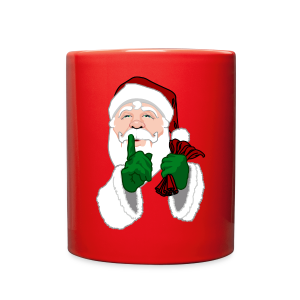 Santa Clause Cups Santa Christmas Mugs - Full Color Mug
