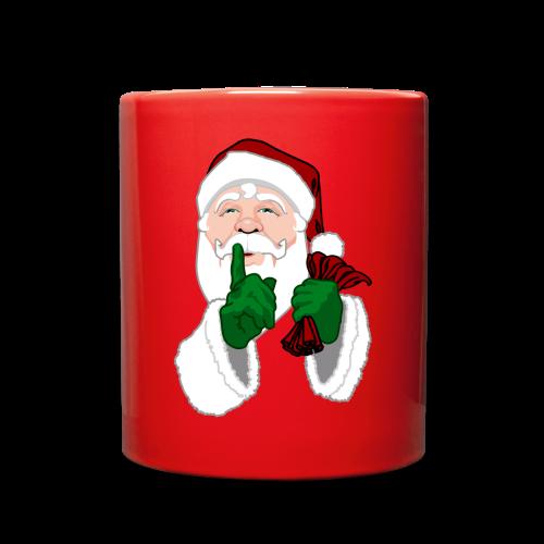 Santa Clause Cups Santa Christmas Mugs - Full Color Mug