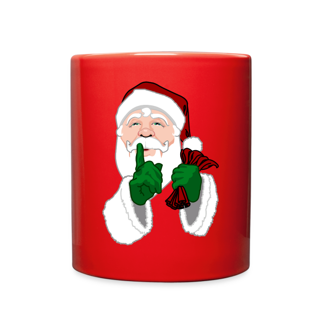 Santa Clause Cups Santa Christmas Mugs