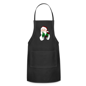 Santa Clause Apron Santa Clause Christmas Gifts - Adjustable Apron